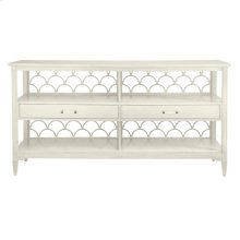 Oasis-Sea Cloud Sideboard in Saltbox White