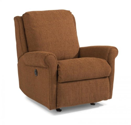 Macy Fabric Power Rocking Recliner