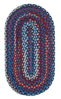 Garrison Patriotic Braided Rugs (Custom)