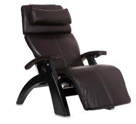 Perfect Chair PC-610 - Espresso Premium Leather - Matte Black
