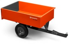 12' Steel Swivel Dump Cart