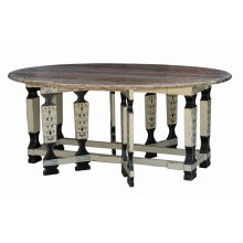 Faux Leg Drop Leaf Table