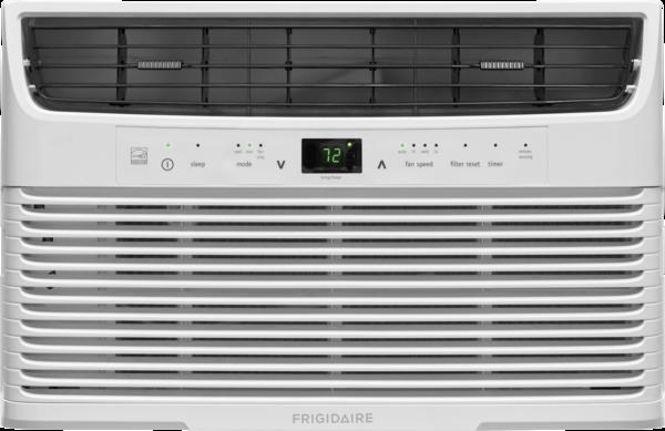 Frigidaire 6,000 BTU Window-Mounted Room Air Conditioner  WHITE
