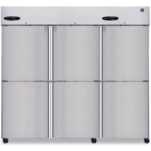 HoshizakiRefrigerator, Three Section Upright, Half Stainless Door