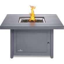 Hamptons Square Patioflame® Table , Grey , Propane