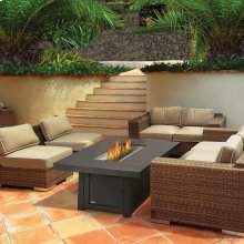 ST. TROPEZ RECTANGULAR PATIOFLAME TABLE