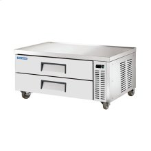 """52"""" Stainless Steel Chef Base Refrigerator"""
