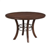 Cameron Round Wood Dining Table
