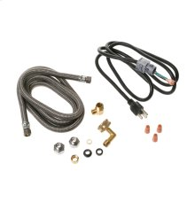 Universal dishwasher installation kit