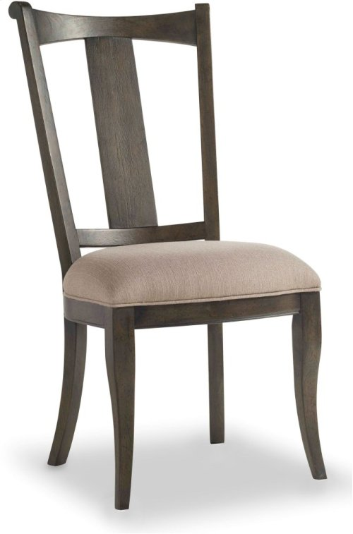 Vintage West Upholstered Splatback Side Chair