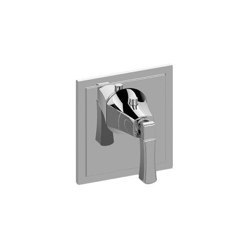 Finezza DUE Thermostatic Valve Trim Plate and Handle