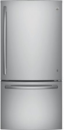 24.9 Cu. Ft. Bottom-Freezer Refrigerator with Factory Installed Ice Maker