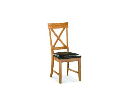 Family Dining X Back Side Chair