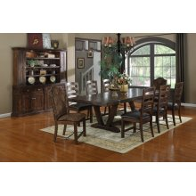 Emerald Home Castlegate Dining Table Kit Pine D942dc-10-k
