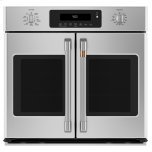 "CAFE APPLIANCESCaf(eback) 30"" Smart French-Door Single Wall Oven with Convection"
