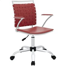 Fuse Office Chair in Red