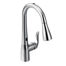 Arbor chrome one-handle pulldown kitchen faucet