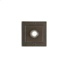 Flute Doorbell Button Silicon Bronze Brushed with Basic Product Image