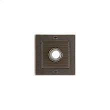 Flute Doorbell Button Silicon Bronze Brushed with Basic
