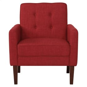 Joyce Accent Chair in Red