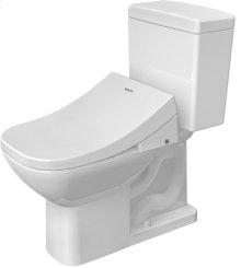 White Two-piece Toilet, 1.28 Gpf (4.8 Liters), Water Saving 6-liter Flush