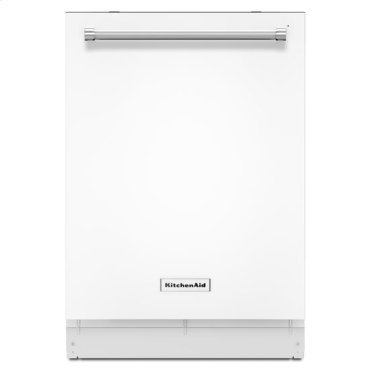 KitchenAid® 46 dBA Dishwasher with ProScrub™ Option - White