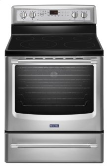30-inch Wide Electric Range with Convection and Power Preheat - 6.2 cu. ft.***FLOOR MODEL CLOSEOUT PRICE***