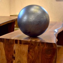 Hammered Copper Sphere 14 Inch / Antique Dark Copper