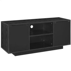 Portal TV Stand in Black Product Image