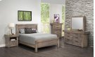 """Queen Bed w/22"""" Low Footboard 64-1/2W x 52H x 88D Product Image"""