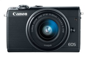Canon EOS M100 EF-M 15-45mm f/3.5-6.3 IS STM Lens Kit Black EOS M Series Digital Cameras