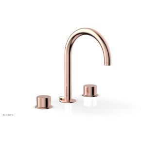 BASIC II Widespread Faucet 230-02 - Polished Copper