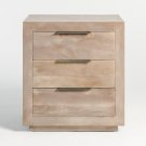 Holden Three Drawer Night Stand Product Image