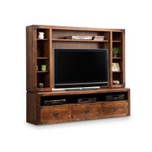 Saratoga HDTV Cabinet with Hutch 44'' TV Opening
