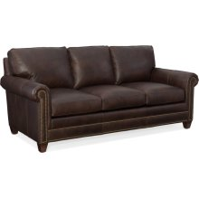 Bradington Young Raylen Stationary Sofa 8-Way Tie 604-95