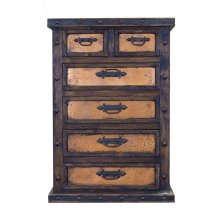 Chest W/Copper Drawers