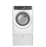 Out of Box Front Load Perfect Steam Gas Dryer with 7 cycles - 8.0 Cu. Ft.