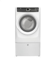 Floor Model Clearance! Front Load Perfect Steam Gas Dryer with 7 cycles - 8.0 Cu. Ft.