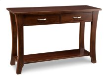 Yorkshire Sofa Table with Shelf and 2 Drawers