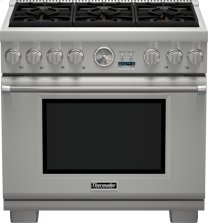 36 inch Professional Series Pro Grand Commercial Depth Liquid Propane Range PRL366JG