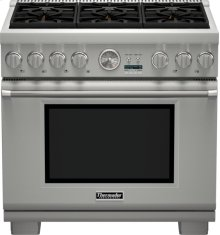 36 inch Professional Series Pro Grand Commercial Depth All Gas Range PRG366JG