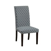 Carolina Blue Parson Chair