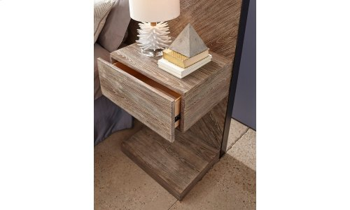 Epicenters Austin Cedar Park Wall King Panel Bed with Nightstands