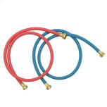 Whirlpool5' Commercial Grade Washer Hoses - 2 Pack