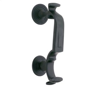 """Oil-Rubbed Bronze """"S"""" Knocker Product Image"""