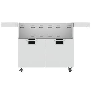 "Hestan42"" Aspire Tower Cart with Double Doors - ECD Series - Stealth"