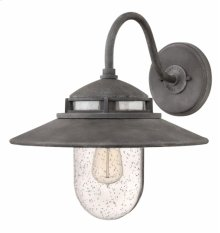 Aged Zinc Atwell Exterior Wall Mount