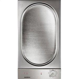 Gaggenau200 series Vario 200 series Teppan Yaki Stainless steel control panel Width 12 ''