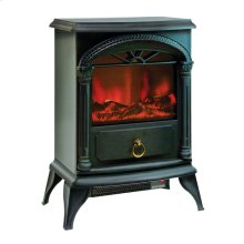 CZFP4 Ceramic Electric Fireplace Stove Fan-Forced Heater, Black
