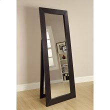 Transitional Cappuccino Mirror